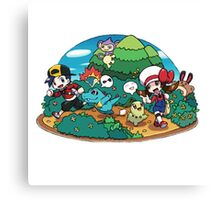 pokemon park Canvas Print