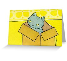 Cat-in-a-Box Greeting Card