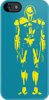 Cylon iPhone Case - teal by monsterplanet