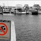 No Swimming by Carmel Abblitt