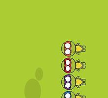 TMNT Chibi by icoradesign