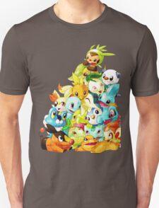 pokemon starter all T-Shirt