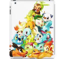 pokemon starter all iPad Case/Skin
