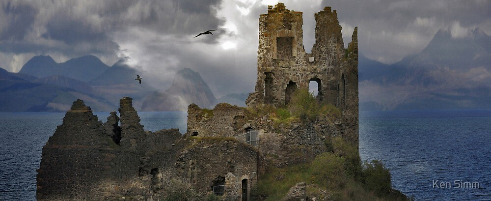 The History in this Landscape. by Kenart