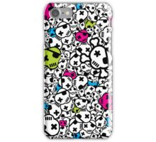 Funky Skulls iPhone Case/Skin