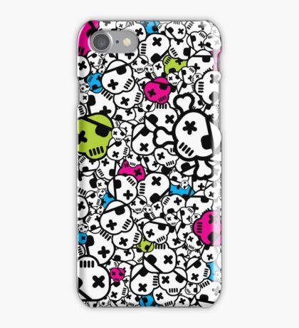 Funky Skulls iPhone Case/Skin