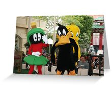 Colourful cartoons Greeting Card