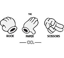 The Rock, Paper, Scissors Co. Photographic Print