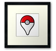 pokemon go logo Framed Print