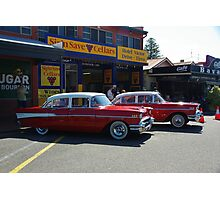 Two Red Beauties Photographic Print