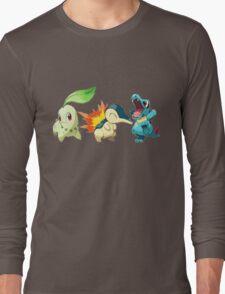 pokemon starter 1 Long Sleeve T-Shirt