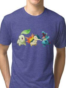 pokemon starter 1 Tri-blend T-Shirt