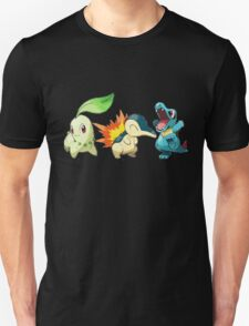pokemon starter 1 Unisex T-Shirt