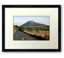 Country Road Connemara Ireland Framed Print