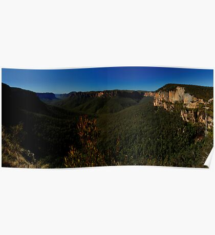 Govett's Leap Lookout, Blackheath, NSW. Poster