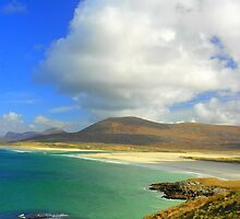 Luskentyre Beach ~ Harris iPhone cover by ©The Creative  Minds