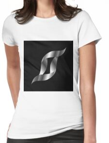 Metallic S Womens Fitted T-Shirt