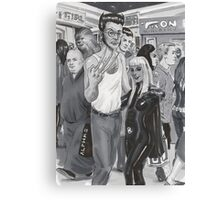 NoHo Noir: Ash and Mita  at Comic-Con. Canvas Print