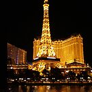 Eiffel Tower in Vegas by Kezzarama