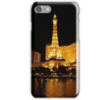 Eiffel Tower in Vegas iPhone Case/Skin
