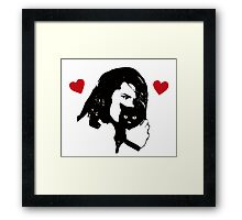 Danzig Loves Kittens Framed Print