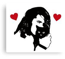 Danzig Loves Kittens Canvas Print