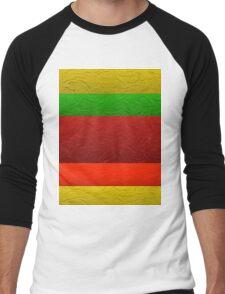 Stripes  2 Men's Baseball ¾ T-Shirt
