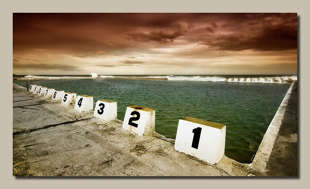 Merewether Ocean Baths by kevin chippindall