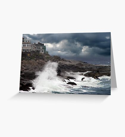 Going Coastal In Maine Greeting Card