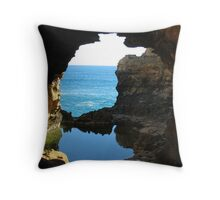 Great Ocean Views Throw Pillow