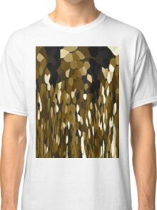 Brown Chocolate Tears Falling Softly Classic T-Shirt