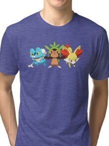 pokemon starter 7 Tri-blend T-Shirt