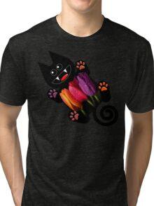 KITTEN 7/10 Tri-blend T-Shirt
