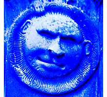 Blue in the face Photographic Print