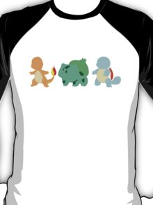 pokemon starter 8 T-Shirt