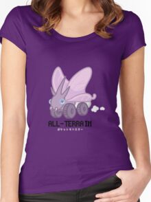 ALL-TERRAIN Venomoth Women's Fitted Scoop T-Shirt