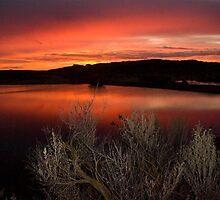 Sunrise over Columbia National Wildlife Refuge by Harv Churchill