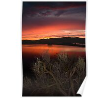 Sunrise over Columbia National Wildlife Refuge Poster
