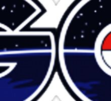 pokemon go logo Sticker