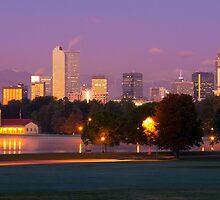 Denver Fall Morning by Reese Ferrier