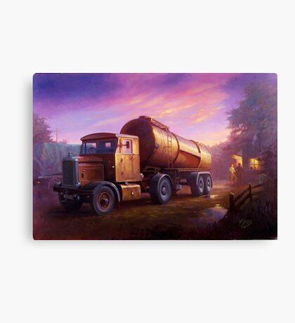 Truckstop 1954 Canvas Print