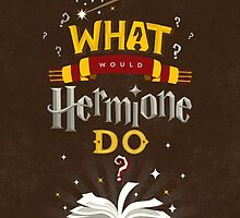 What Would Hermione Do? by fryingsausage
