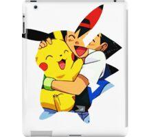 pikachu and ash iPad Case/Skin