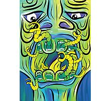 Hungry Apples psychedelic poster Photographic Print