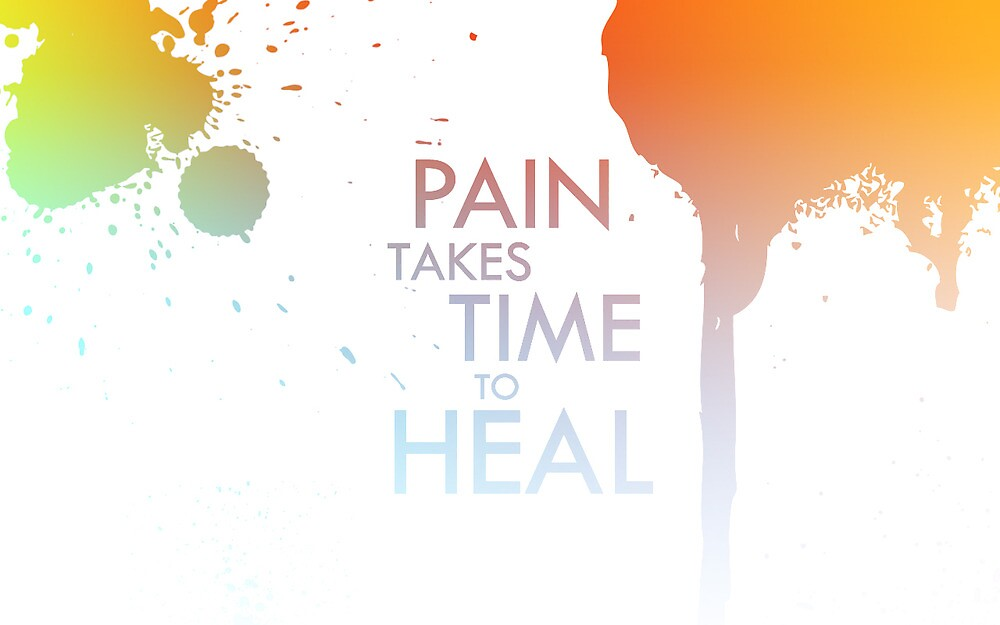 Pain Takes Time To Heal by MagicX