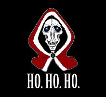 Death says Ho. Ho. Ho. by spectralstories