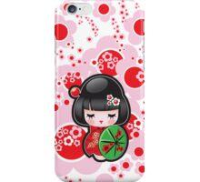 Japanese Kokeshi Doll iPhone Case/Skin