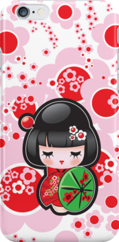 Japanese Kokeshi Doll by MaShusik