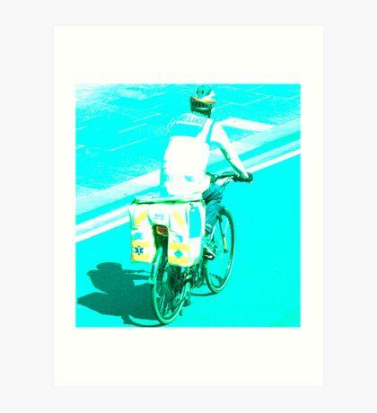 Dr. Bike Art Print