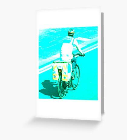 Dr. Bike Greeting Card